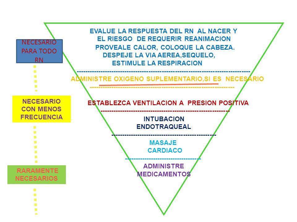 NECESARIO PARA TODO RN EVALUE LA RESPUESTA DEL RN AL NACER Y