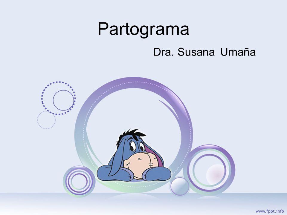 Partograma Dra. Susana Umaña
