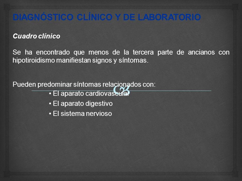 DIAGNÓSTICO CLÍNICO Y DE LABORATORIO