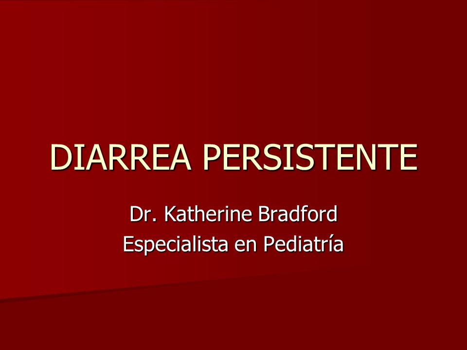 Dr. Katherine Bradford Especialista en Pediatría