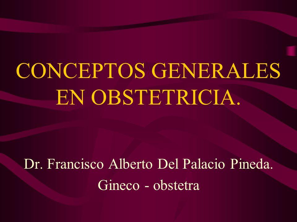 CONCEPTOS GENERALES EN OBSTETRICIA.