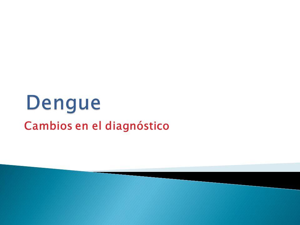 Cambios en el diagnóstico