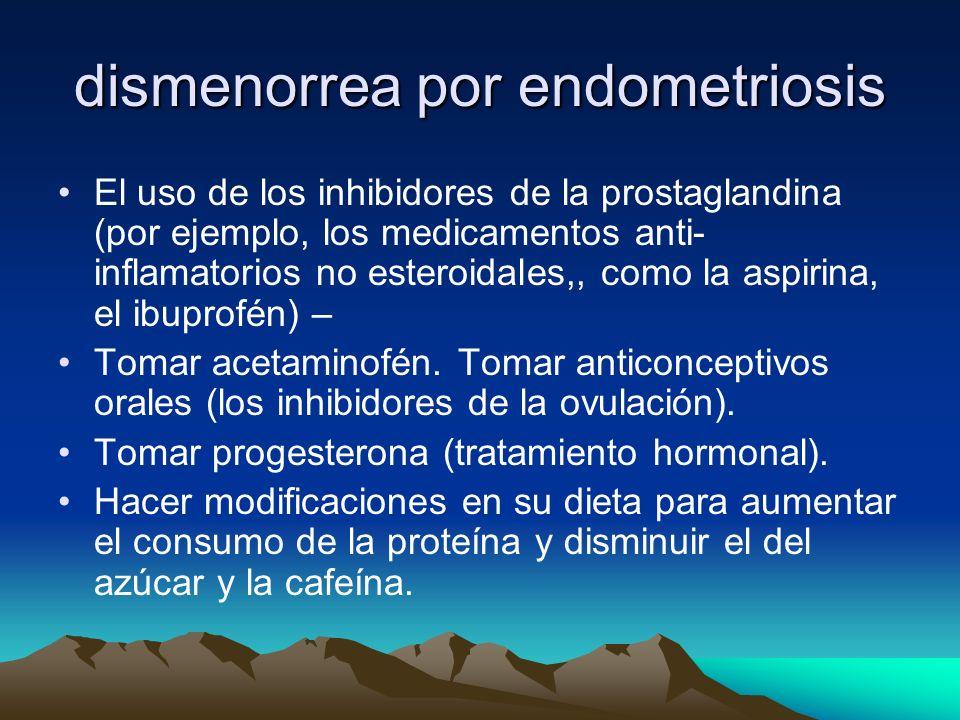 dismenorrea por endometriosis