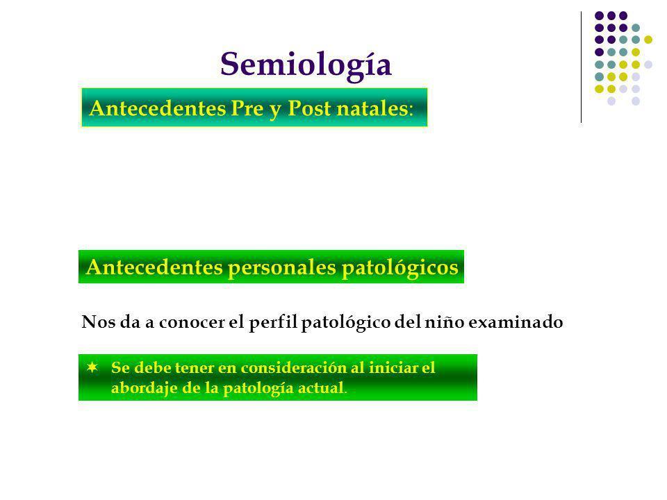Nos da a conocer el perfil patológico del niño examinado