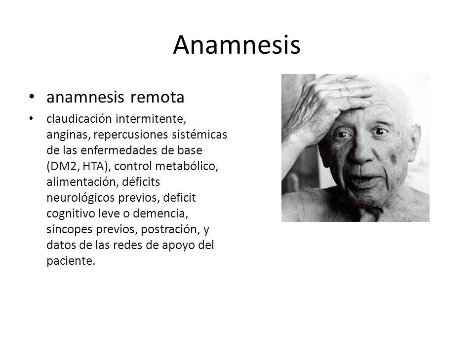 Anamnesis anamnesis remota