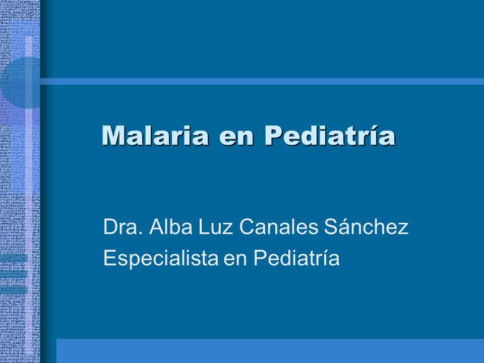 Dra. Alba Luz Canales Sánchez Especialista en Pediatría