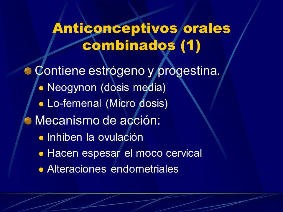 Anticonceptivos orales combinados (1)
