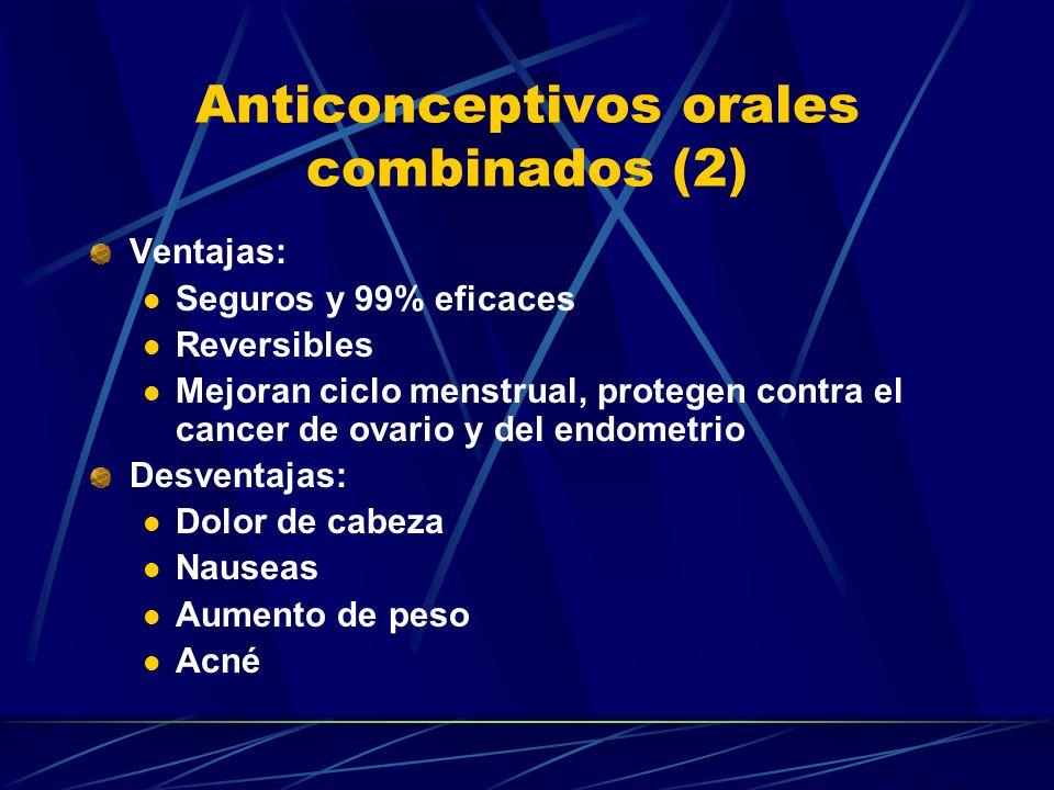 Anticonceptivos orales combinados (2)