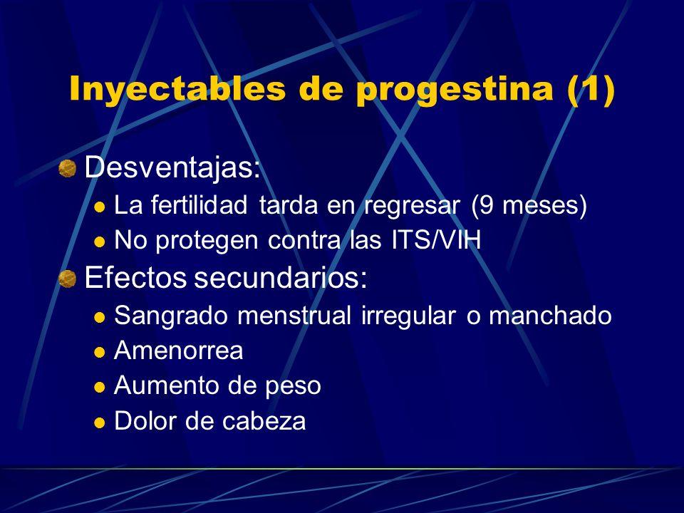 Inyectables de progestina (1)