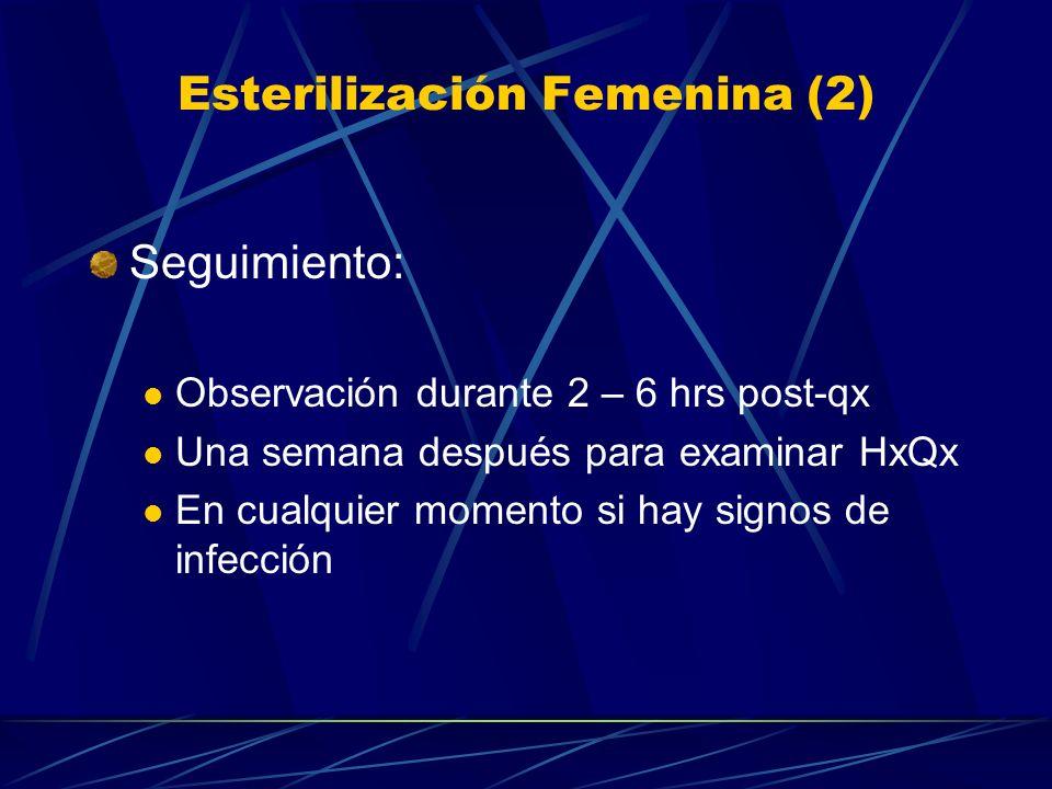Esterilización Femenina (2)