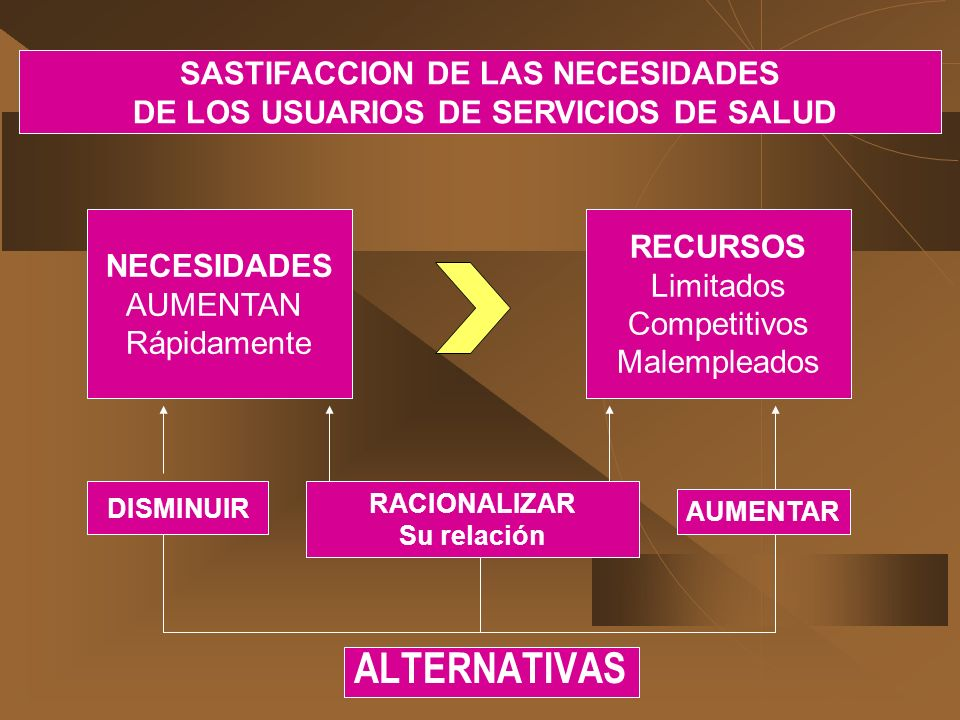 SASTIFACCION DE LAS NECESIDADES DE LOS USUARIOS DE SERVICIOS DE SALUD