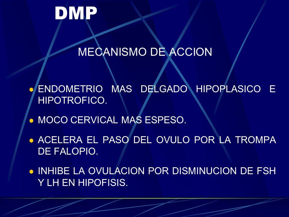 DMP MECANISMO DE ACCION