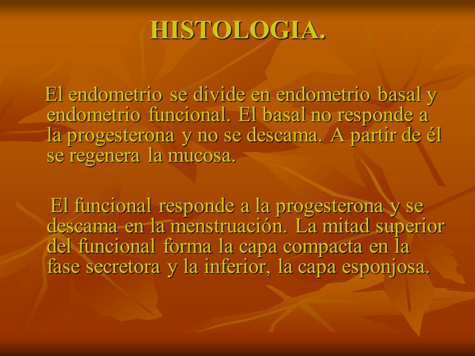 HISTOLOGIA.