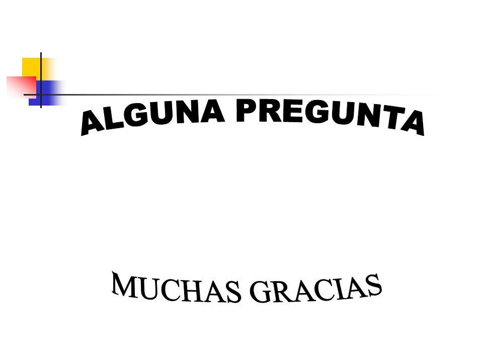 ALGUNA PREGUNTA MUCHAS GRACIAS