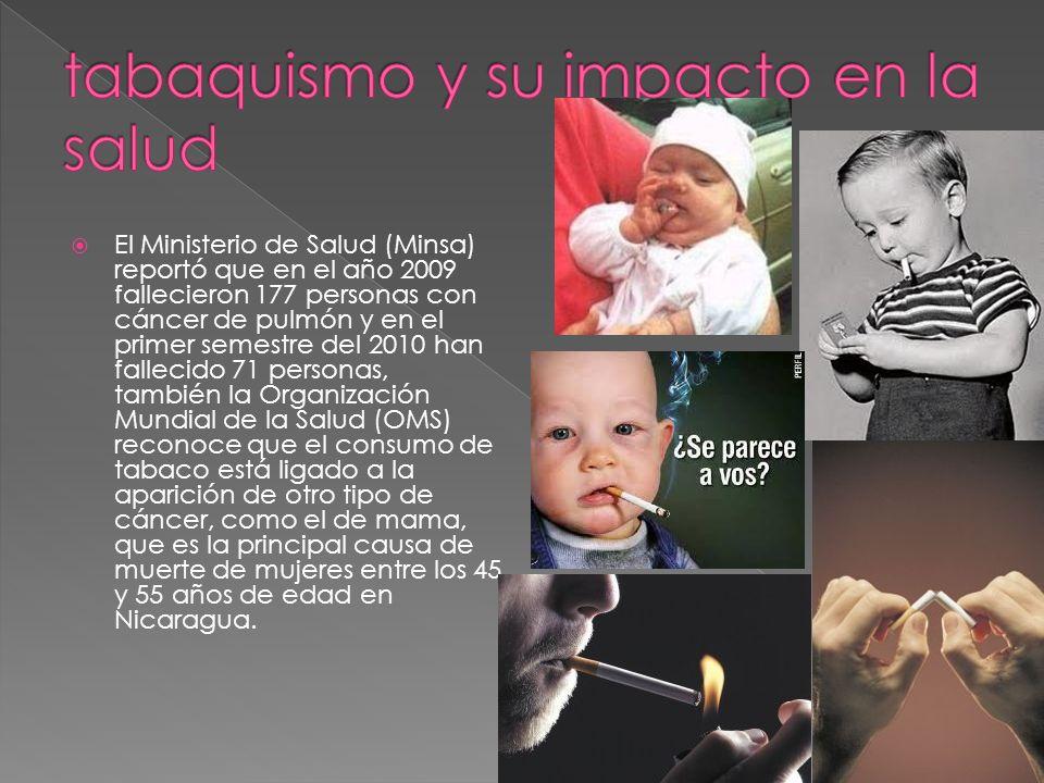 tabaquismo y su impacto en la salud