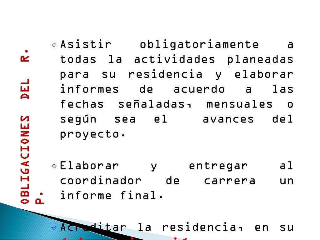 Residencias Profesionales - ppt descargar