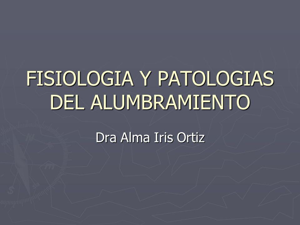 FISIOLOGIA Y PATOLOGIAS DEL ALUMBRAMIENTO