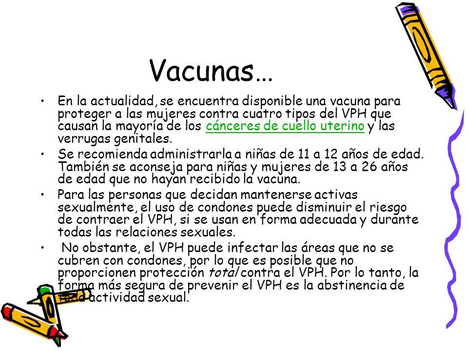 Vacunas…