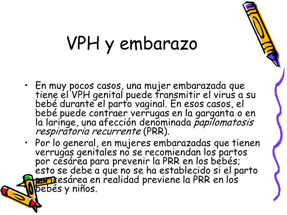 VPH y embarazo