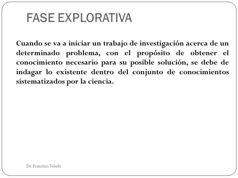 FASE EXPLORATIVA