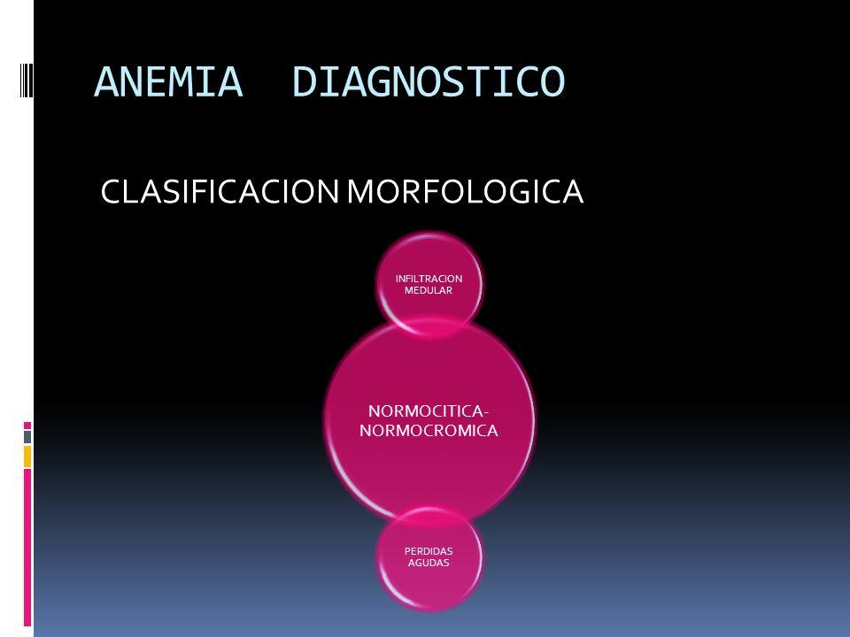 NORMOCITICA-NORMOCROMICA