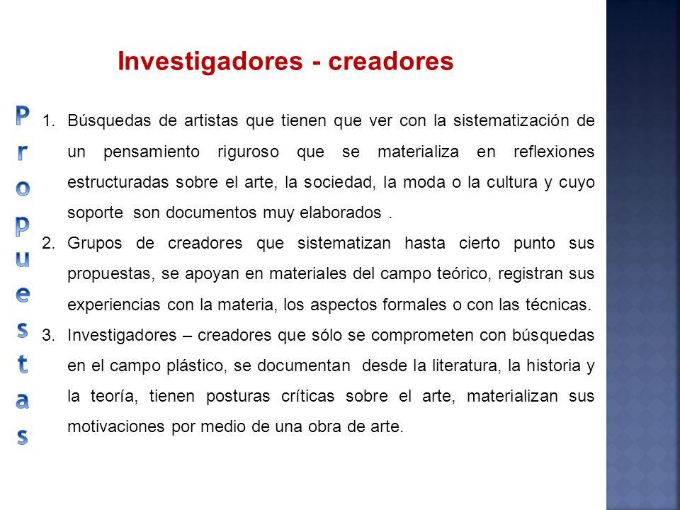 Investigadores - creadores
