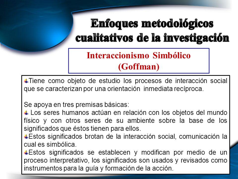 Enfoques metodológicos cualitativos de la investigación