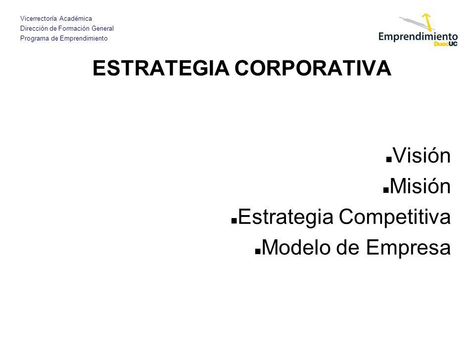 ESTRATEGIA CORPORATIVA