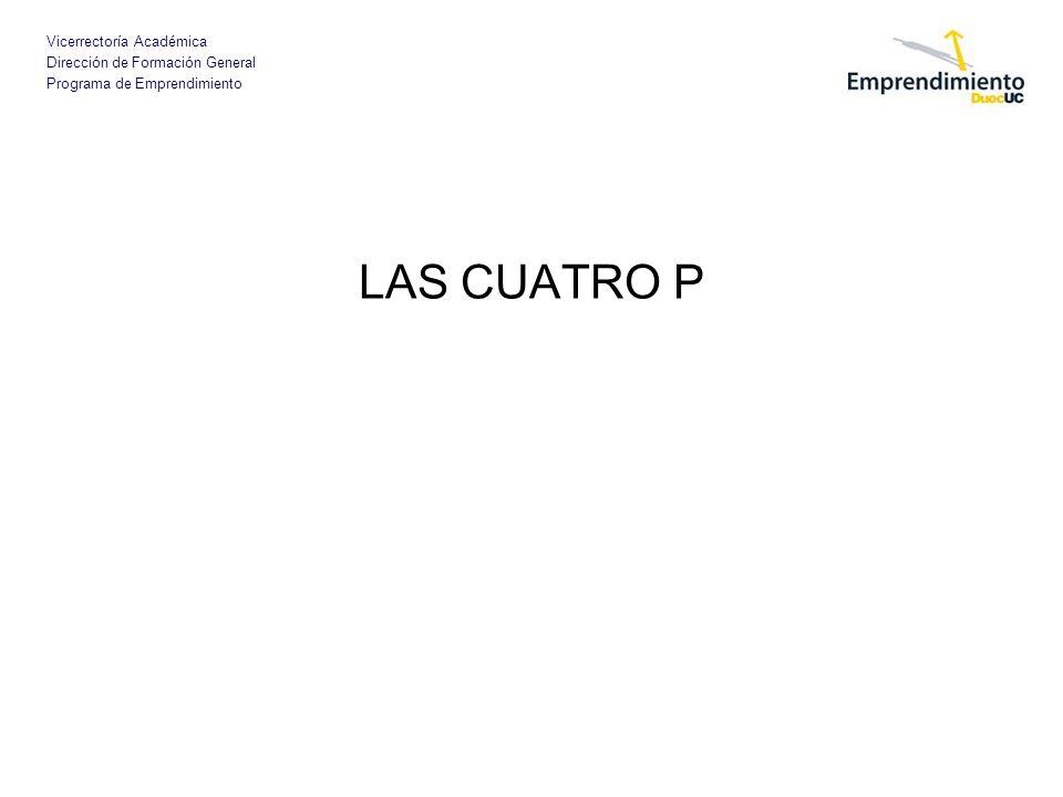 LAS CUATRO P