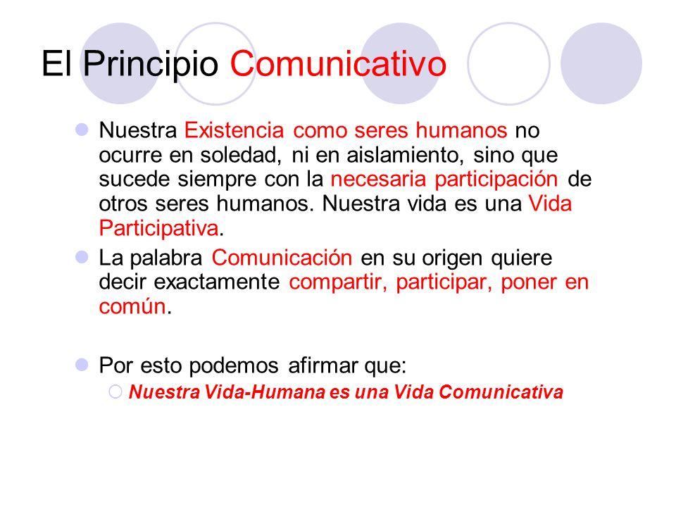 El Principio Comunicativo