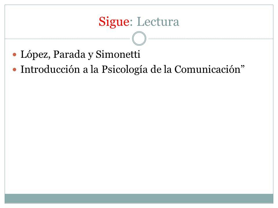 Sigue: Lectura López, Parada y Simonetti