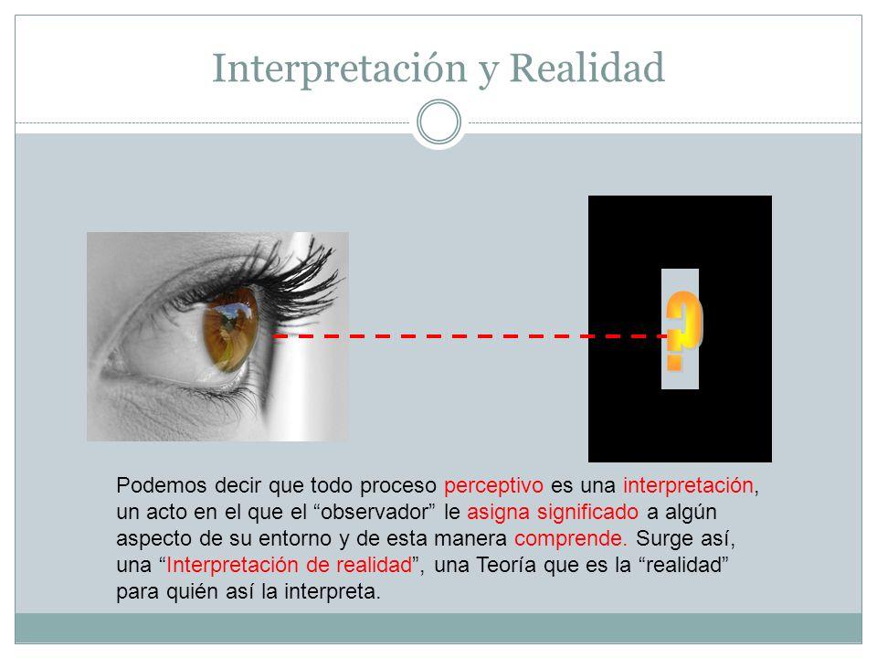 Interpretación y Realidad
