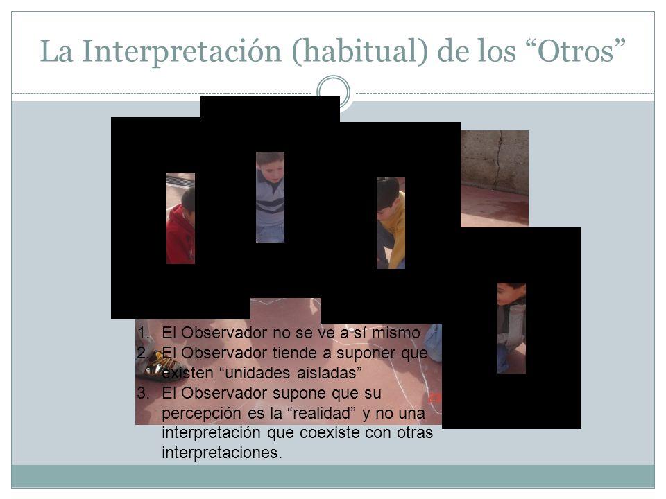 La Interpretación (habitual) de los Otros