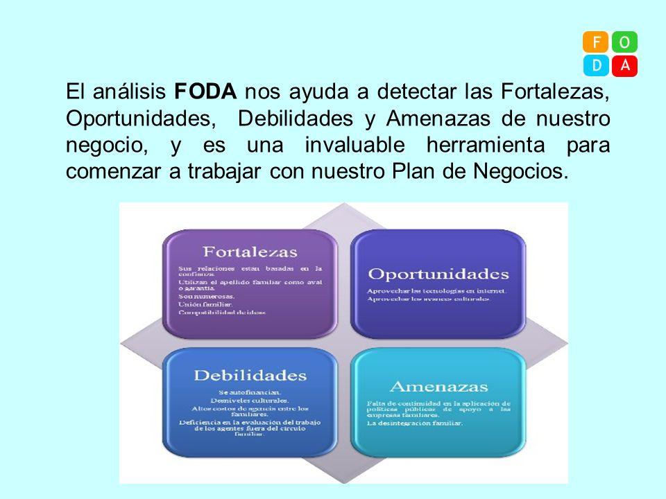 El análisis FODA nos ayuda a detectar las Fortalezas, Oportunidades, Debilidades y Amenazas de nuestro negocio, y es una invaluable herramienta para comenzar a trabajar con nuestro Plan de Negocios.