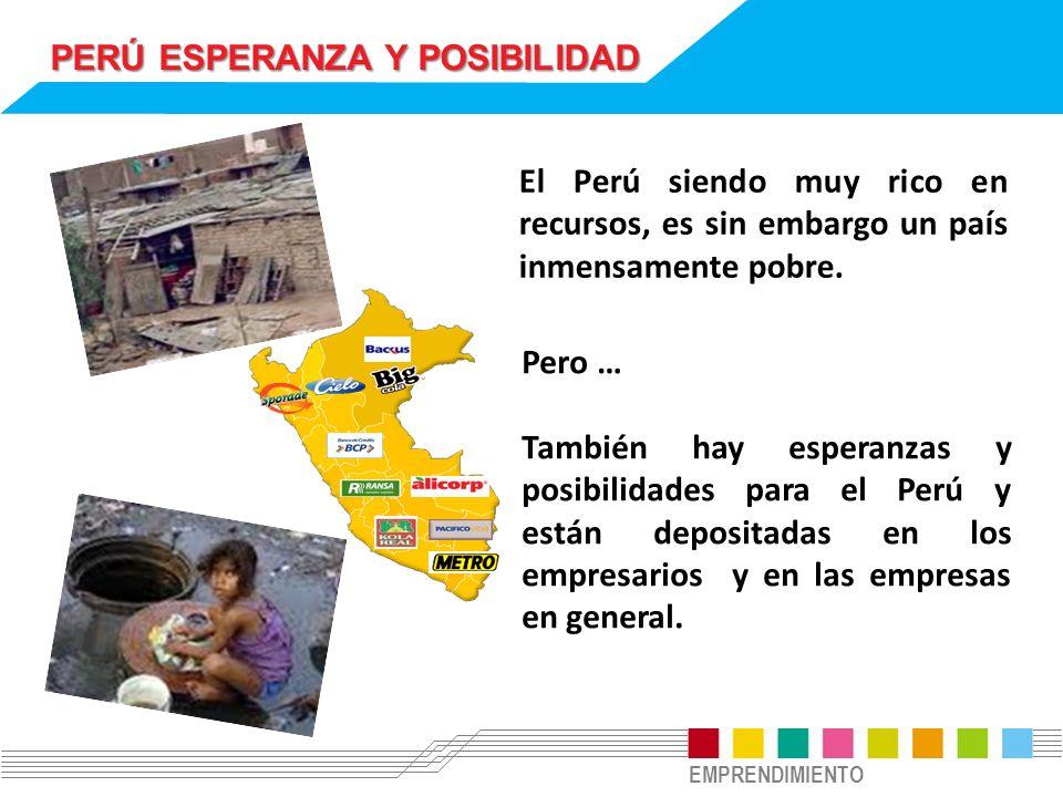 PERÚ ESPERANZA Y POSIBILIDAD