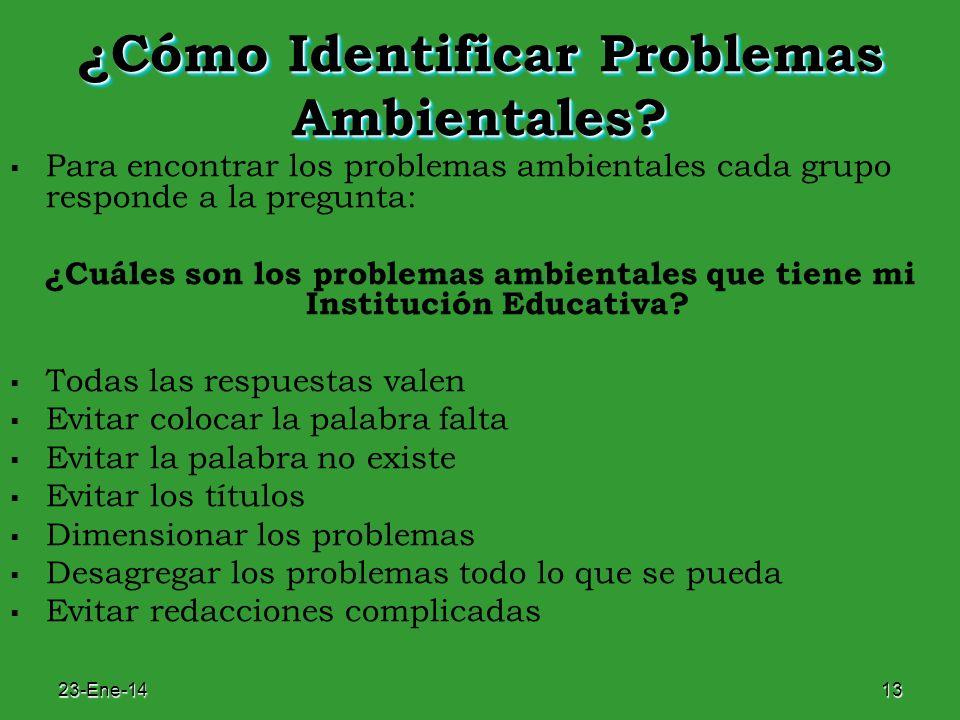 ¿Cómo Identificar Problemas Ambientales