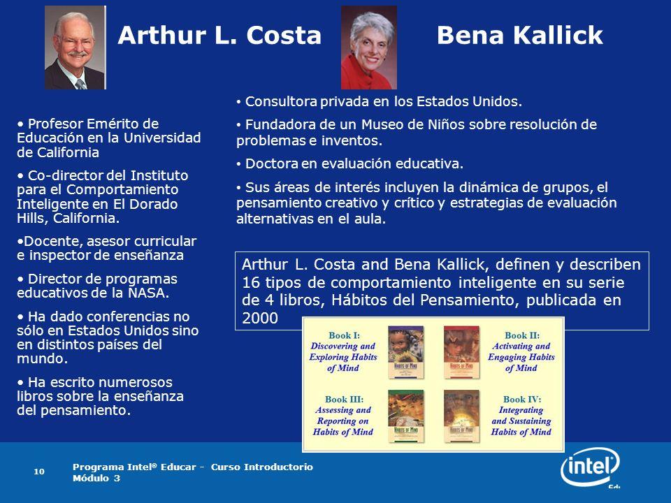 Arthur L. Costa Bena Kallick
