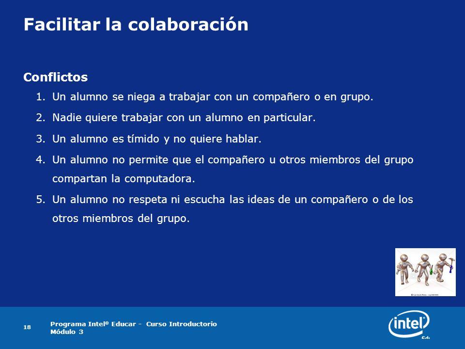 Facilitar la colaboración