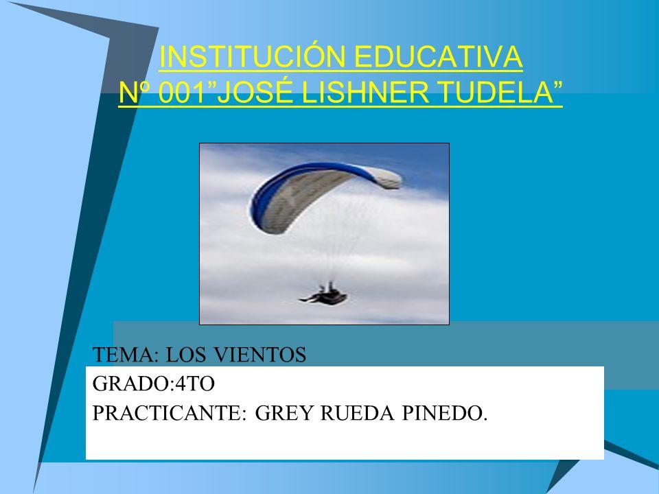 INSTITUCIÓN EDUCATIVA Nº 001 JOSÉ LISHNER TUDELA