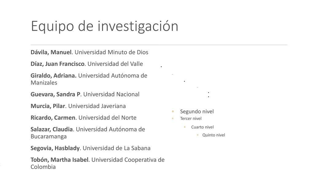 La universidad colombiana en la sociedad red ppt descargar for Aberturas del norte pilar direccion