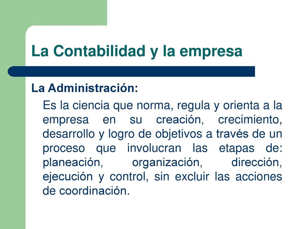 Taller de Contabilidad Financiera Básica La contabilidad y su ...