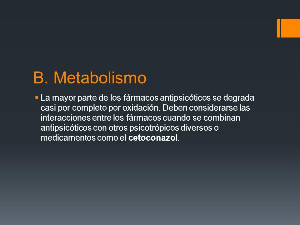B. Metabolismo