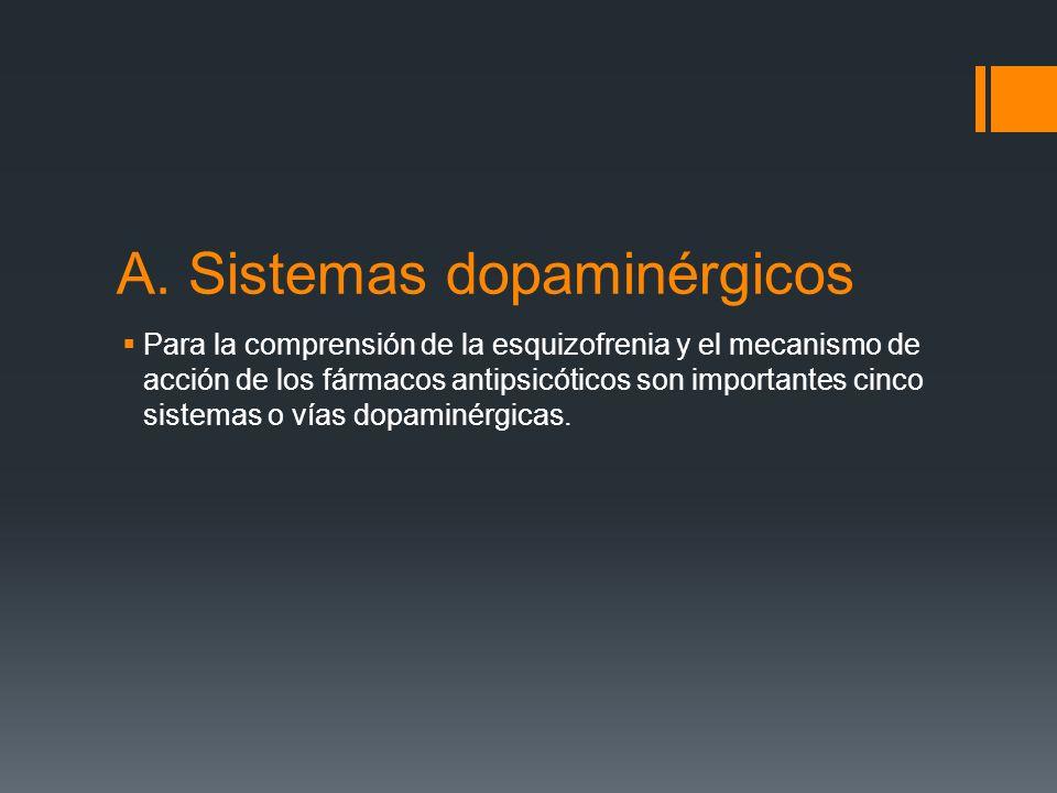 A. Sistemas dopaminérgicos