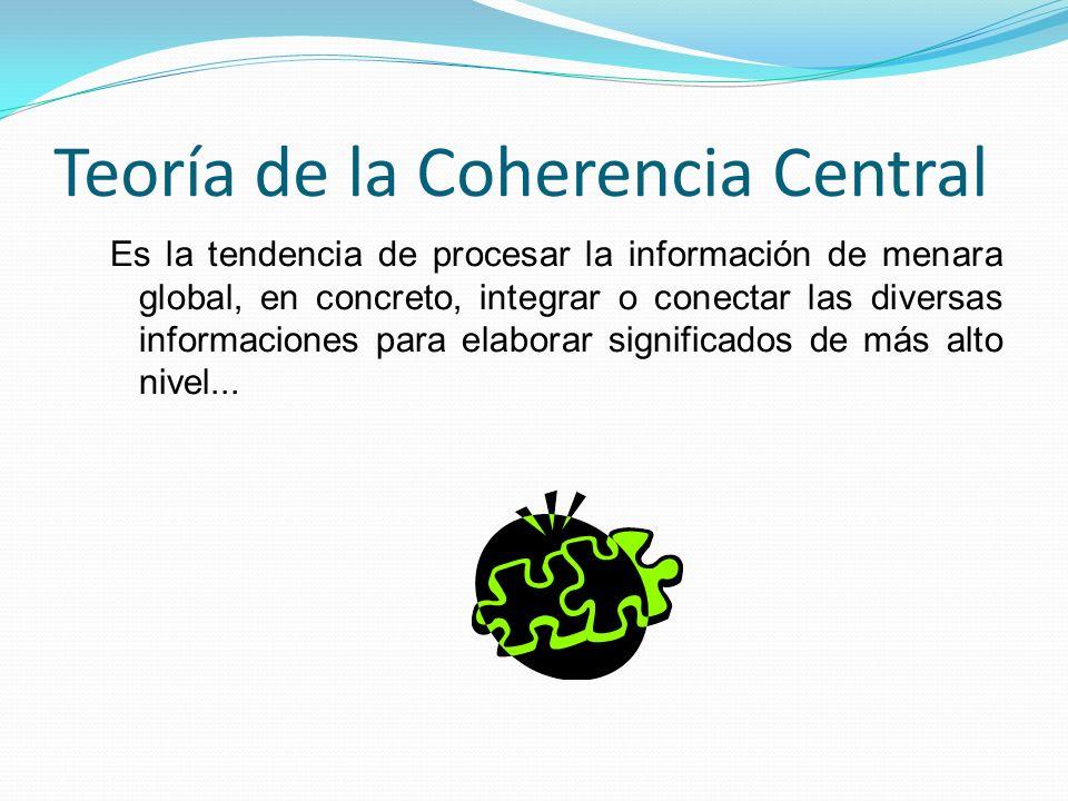 Teoría de la Coherencia Central