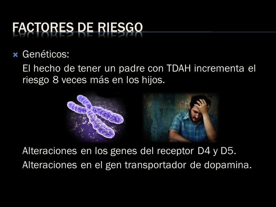 Factores de riesgo Genéticos: