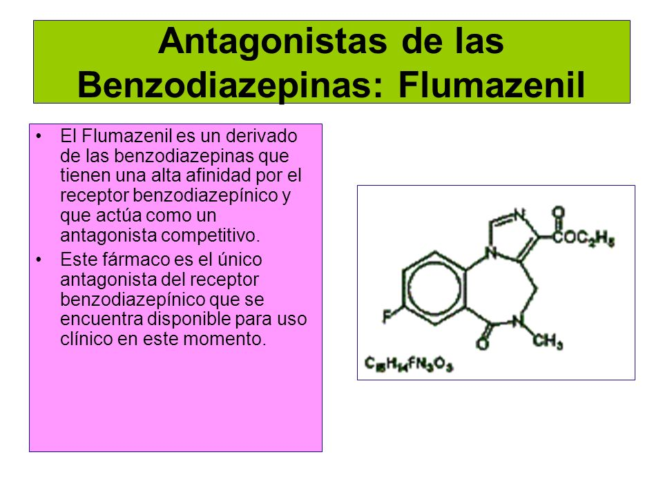 Antagonistas de las Benzodiazepinas: Flumazenil