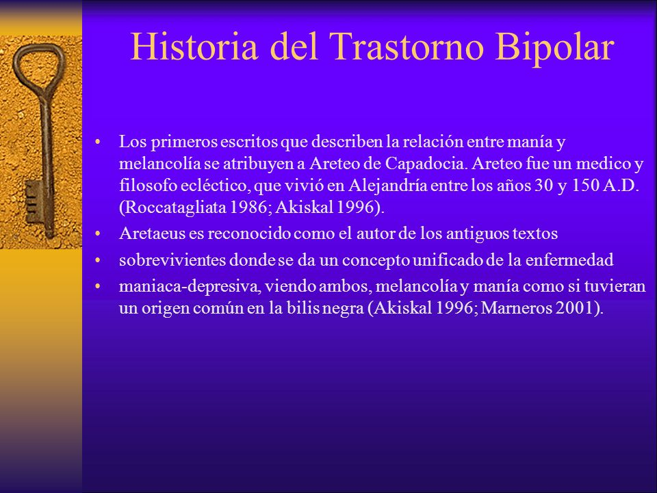 Historia del Trastorno Bipolar