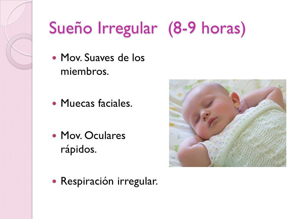 Sueño Irregular (8-9 horas)