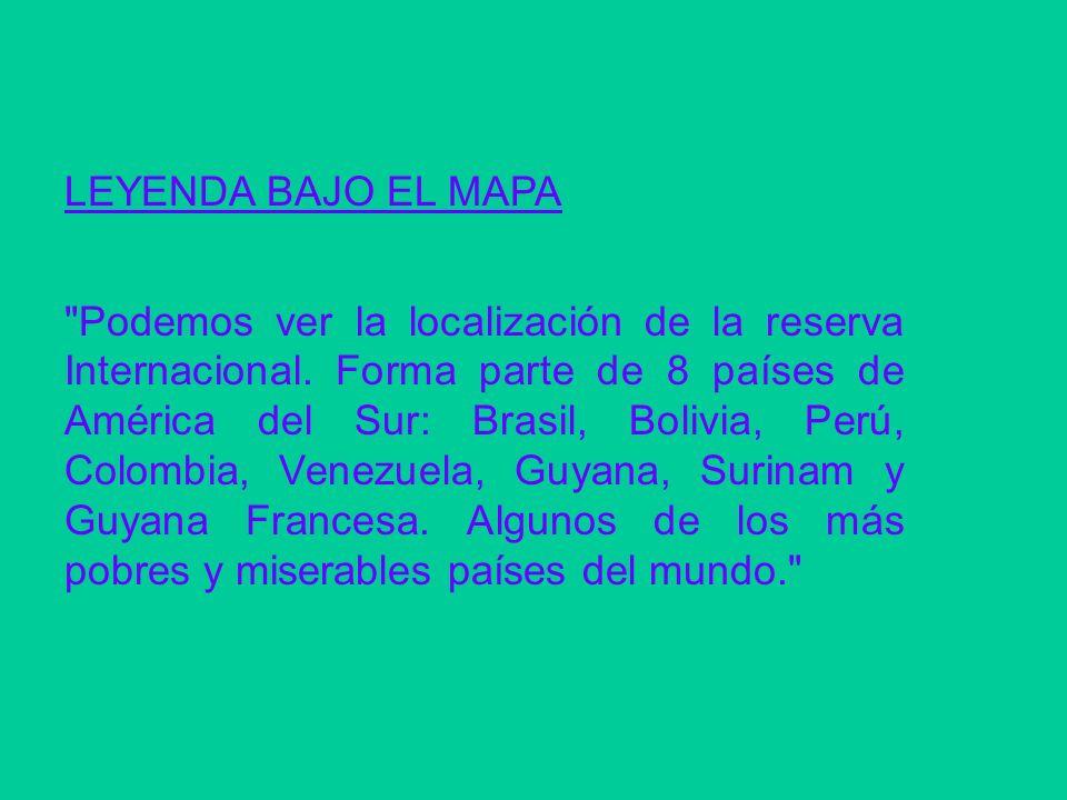 LEYENDA BAJO EL MAPA