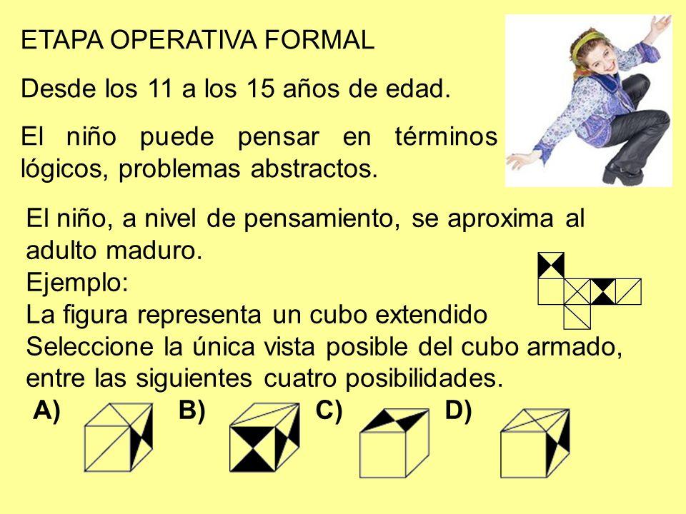 ETAPA OPERATIVA FORMAL